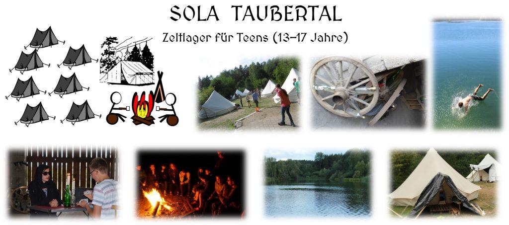 SOLA für Teens: 19. - 27. August '17. Jetzt anmelden!